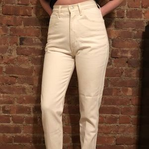 Vintage ivory Guess jeans